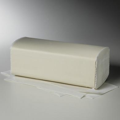 E-Handtücher Fripa 25x23cm 2lg. V-Falz weiß,3000Stk.
