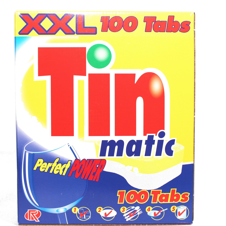 Tinmatic Geschirrspültabs, 100 Stk.