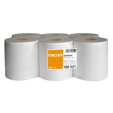 E-Handtücher racon premium Rolle 36x20cm 2-lg.hochw.,6 Rll