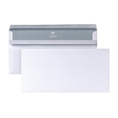 Briefumschläge DIN lang ohne Fenster weiß SK, 1000 Stk.