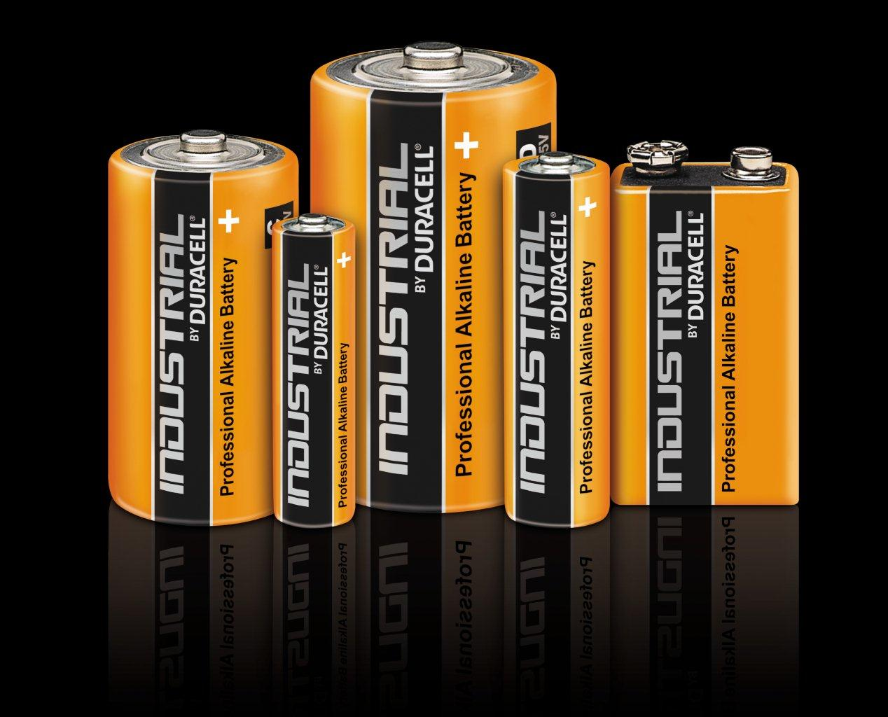 Batterie Duracell Industrial AA Mignon, 1,5V