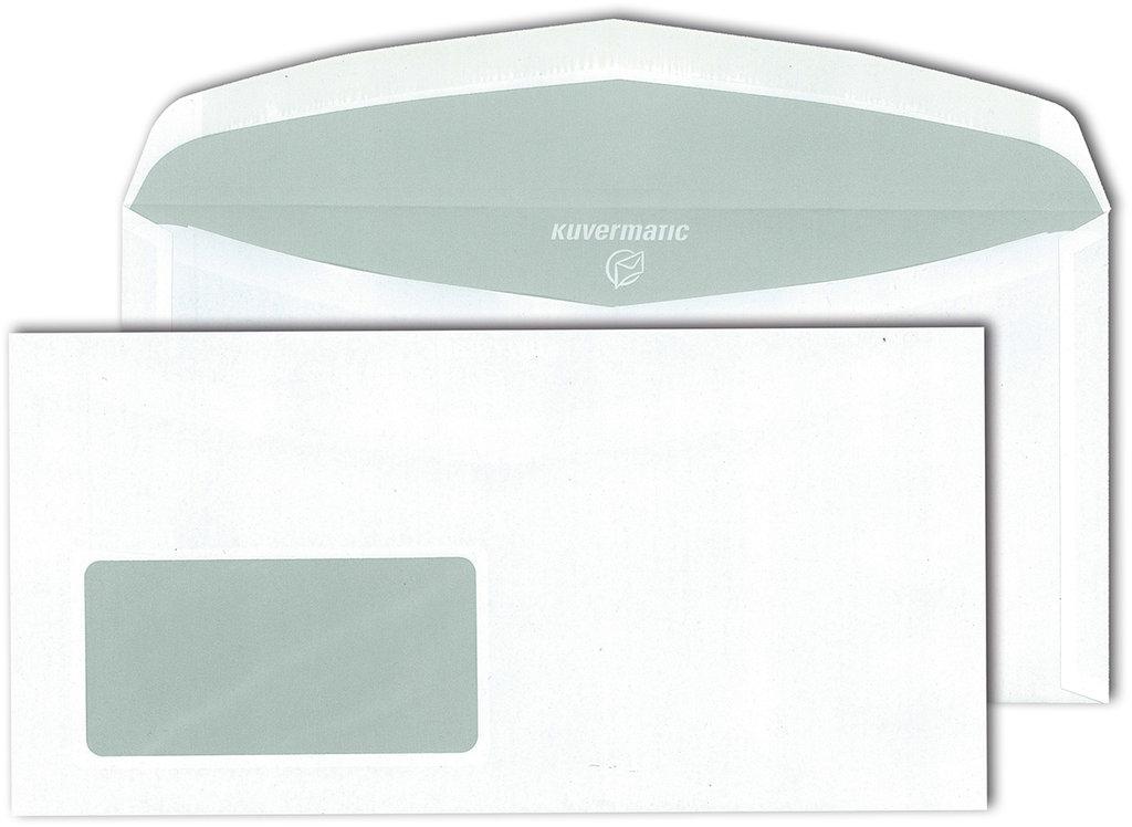 Briefumschläge DIN C6/5 mit Fenster, 1000  Stk.