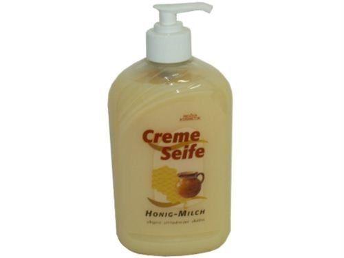 Cremeseife Balsam Honig-Milch, 500 ml