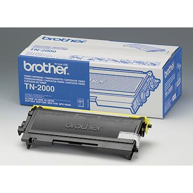 Brother Toner TN2000 schwarz für Fax2820