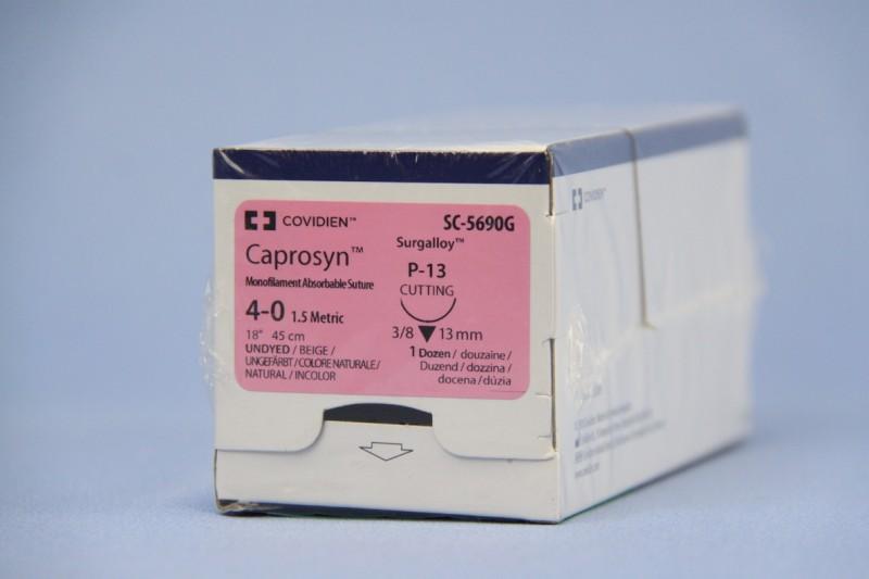 Caprosyn P-13 4/0 45cm SC5690G, 12 Stk.