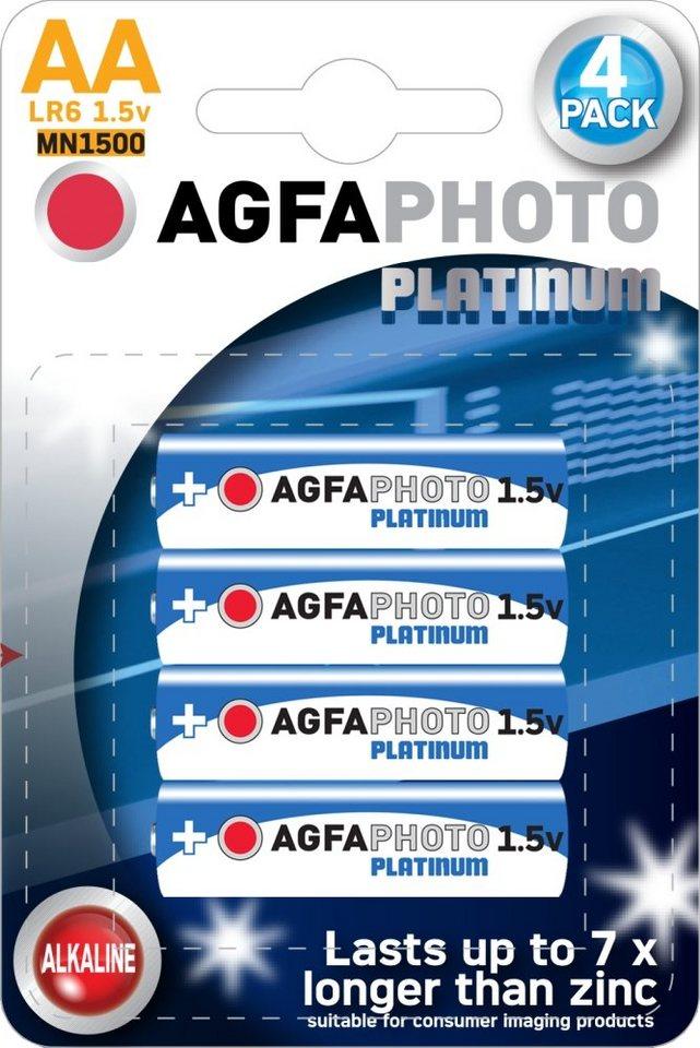 Batterien Agfa Photo Mignon LR06 AA 1,5V, 4 Stk.