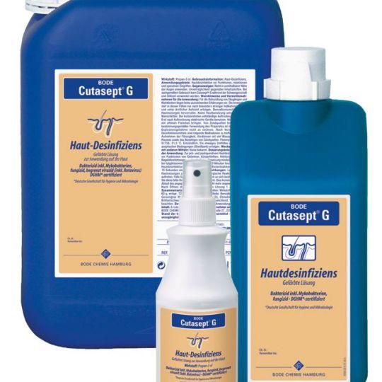 Cutasept G gefärbt Sprühflasche für die Haut, 250ml