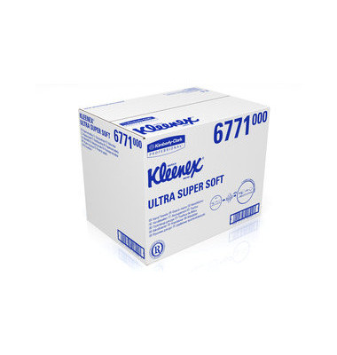 E-Handtücher Kleenex Ultra Super-soft 21,5x31,5cm, 1440 Stk.