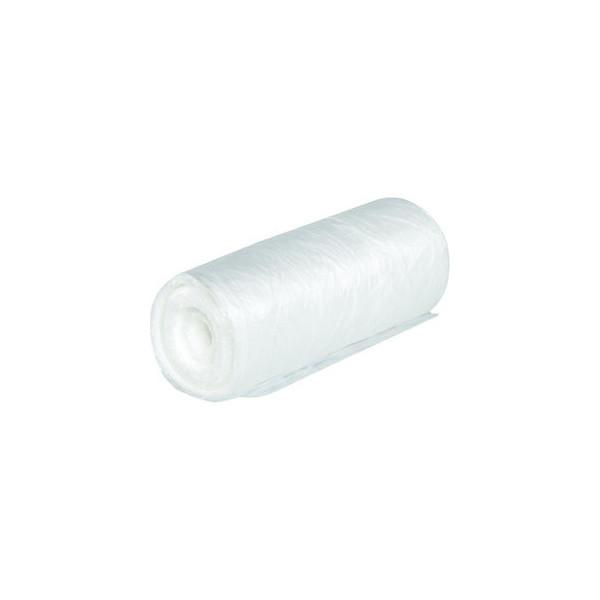 Müllbeutel 60l transparent auf Rolle, 50 Stk.