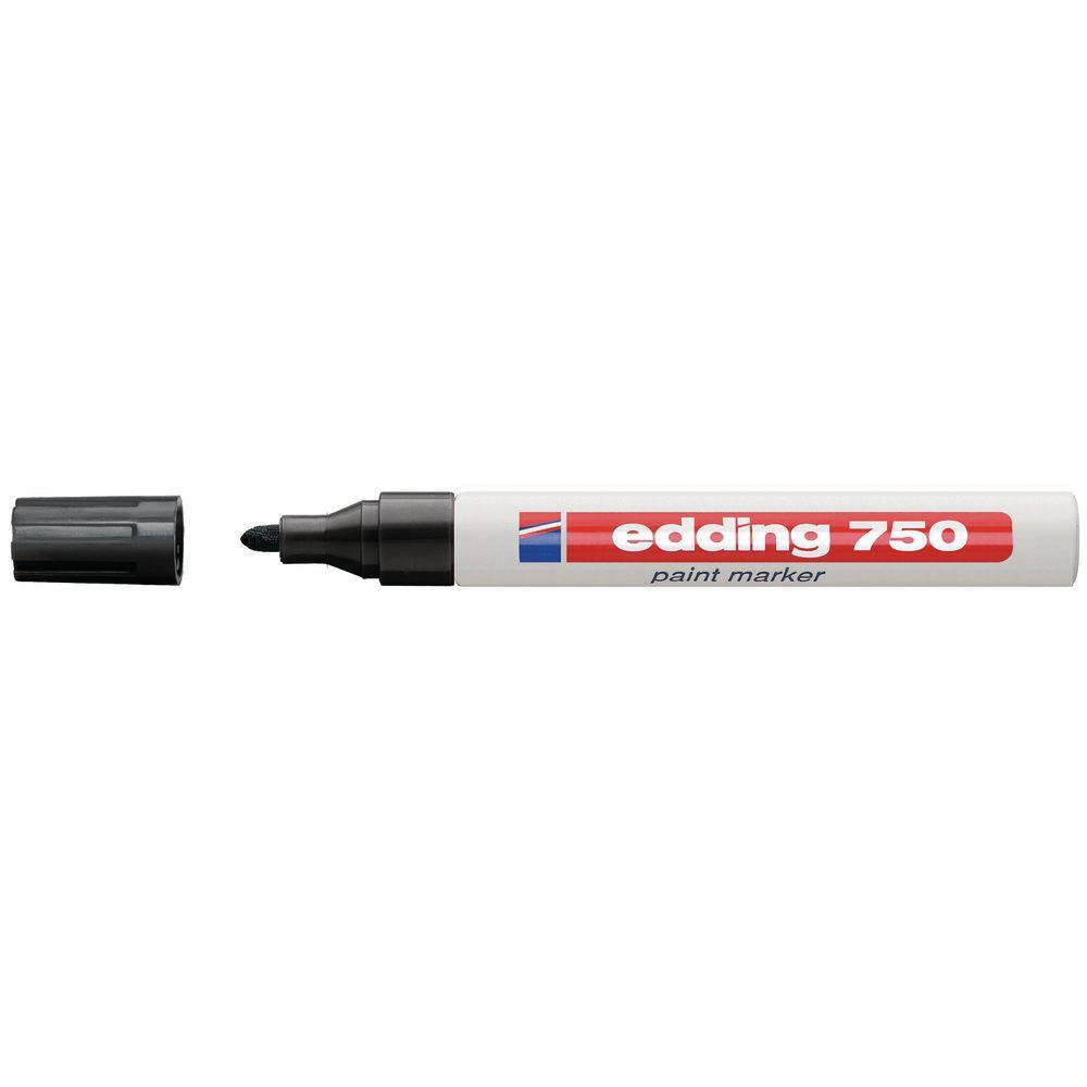 Edding Lackmarker 750 2-4mm schwarz