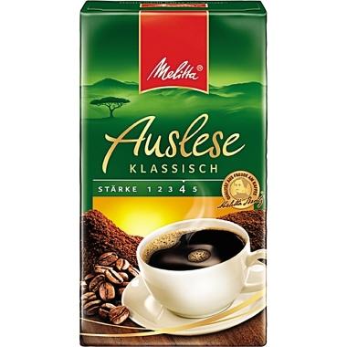Melitta Kaffee Auslese gemahlen, 500 g