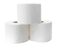 Toilettenpapier Super Soft 3-lagig weiß, 8 Rollen
