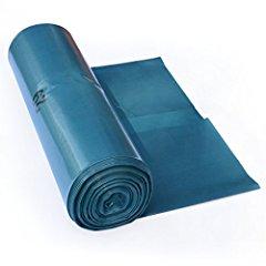 Müllbeutel 120l blau 70x110cm T60 auf Rolle, 25 Stk.