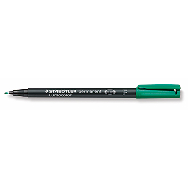 Lumocolor F Folienschreiber permanent grün