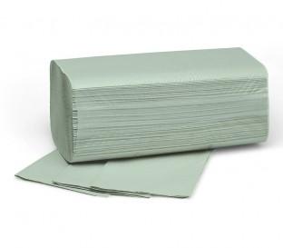 E-Handtücher Fripa Verde 25x23cm 1-lg.V-Falz grün, 5000 Stk