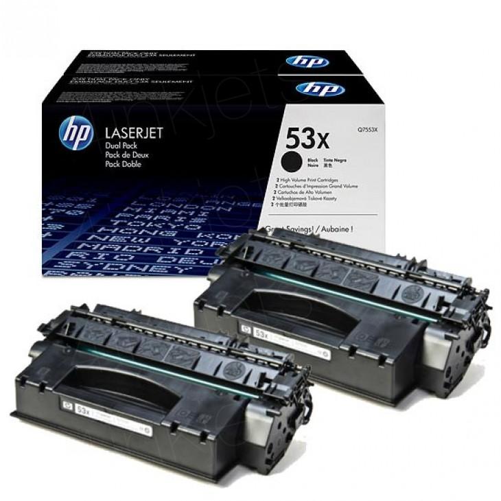 HP Toner 53X schwarz Q7553x
