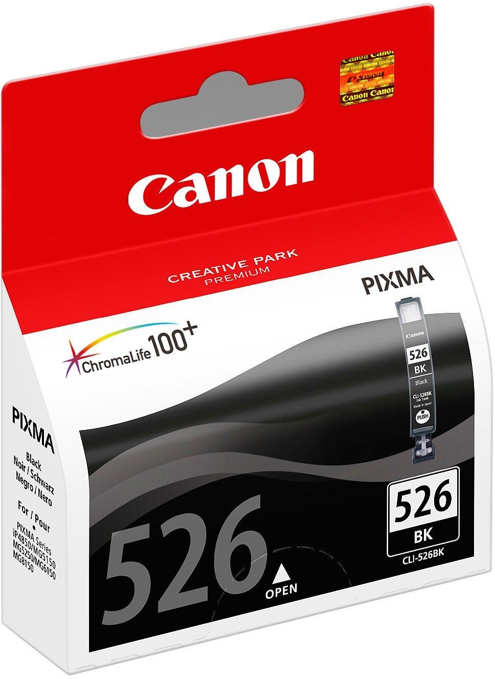 Canon Tintenpatrone CLI526BK schwarz, 9 ml