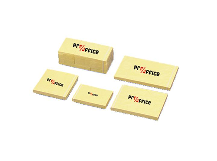 Haftnotiz Pro/Office 38x51mm gelb, 12x100 Blatt