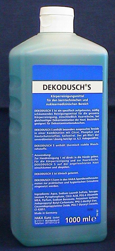 Dekodusch S Waschlotion zur Dekontamination, 1 L