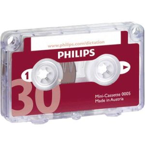 Diktierkassette Phillips 005 Mini 2x15min.