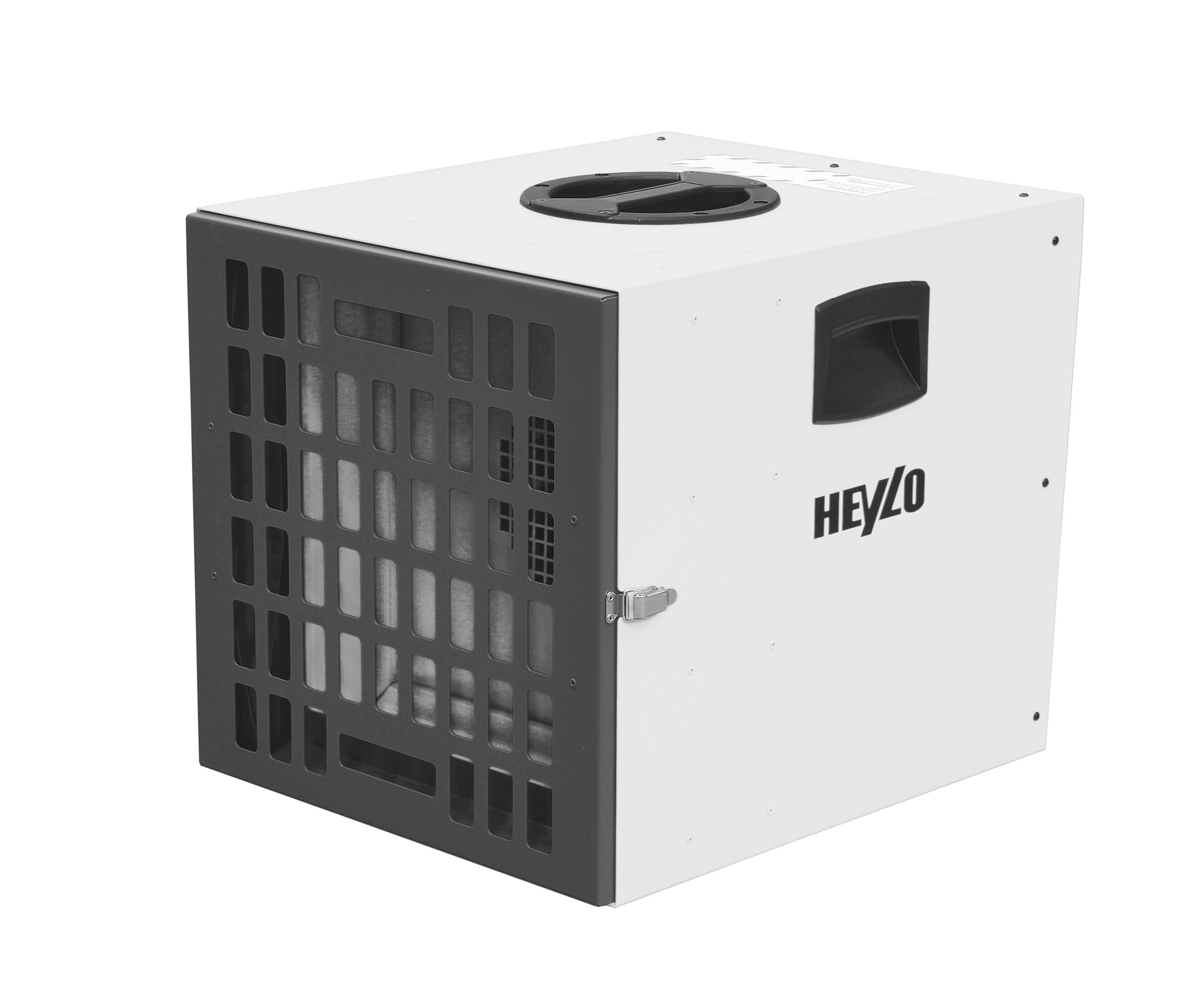 HEYLO® Luftreiniger PowerFilter 1400 (weiß) HEPA H14
