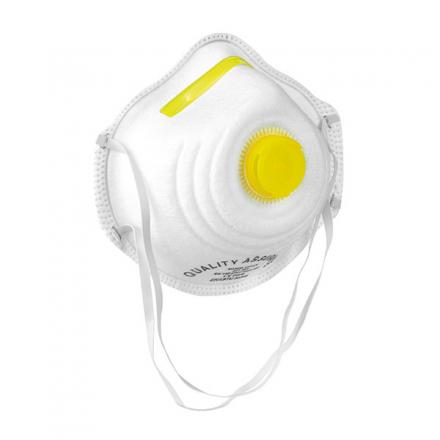 Feinstaubfiltermasken FFP1 mit Ventil, 12 Stk.